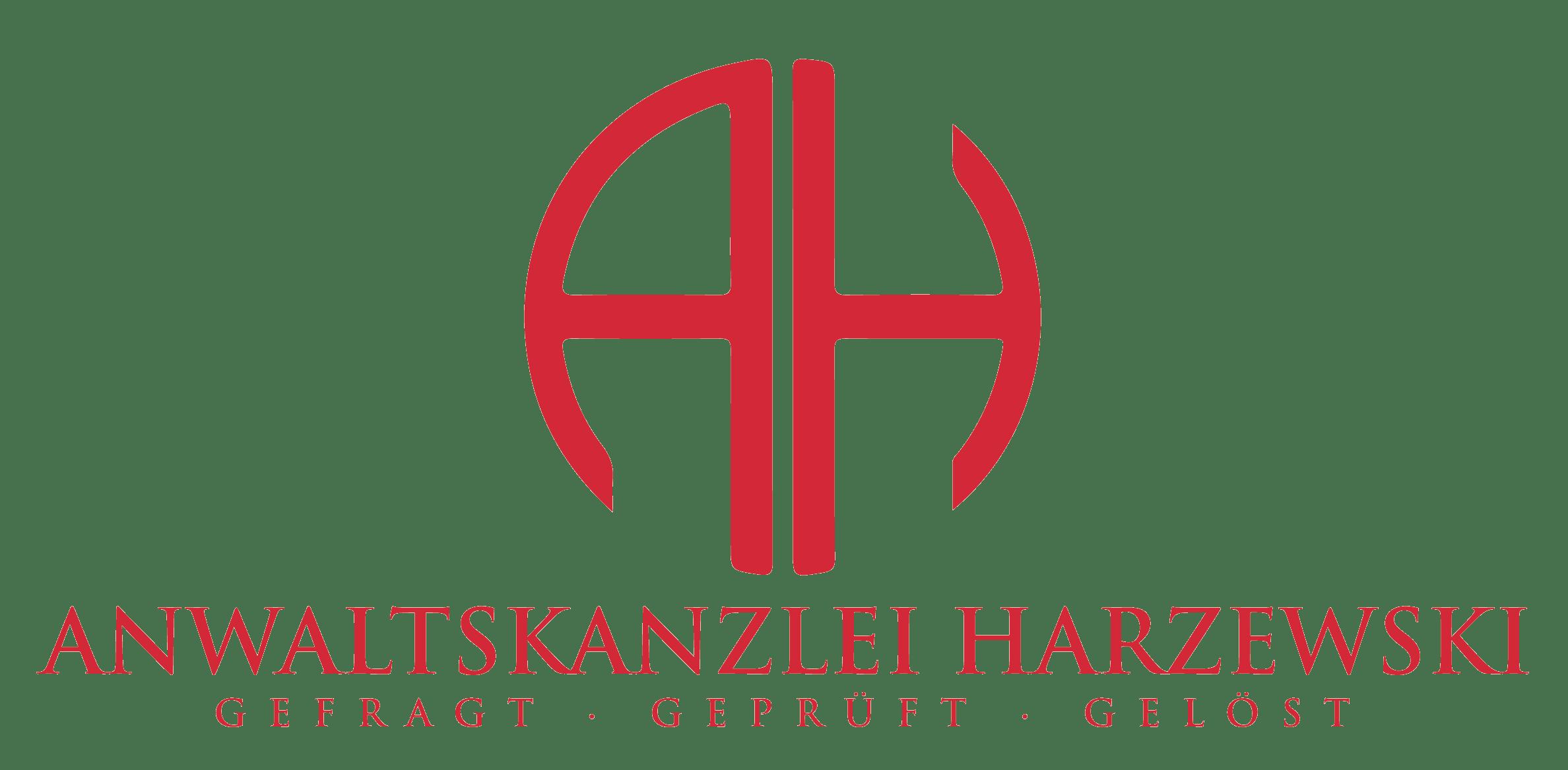 Logo Anwaltskanzlei Harzewski
